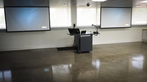 dual projector classroom